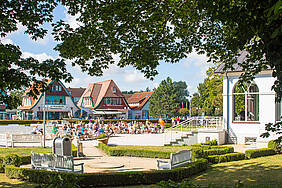 Kurpark im Ostseebad Boltenhagen