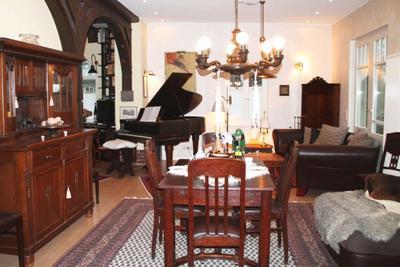 Wohnbereich der Ferienwohnung 08 im Haus Hubertus