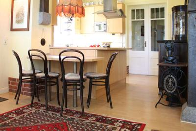 Küche der Ferienwohnung 08 im Haus Hubertus