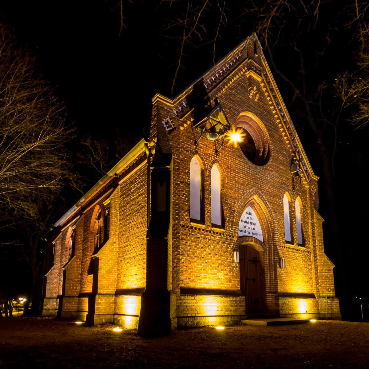 Kirche zur Paulshöhe in Boltenhagen